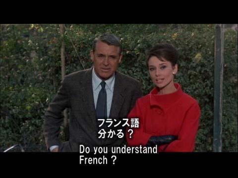英語学習映画 シャレード 10 公園で待ち合わせ