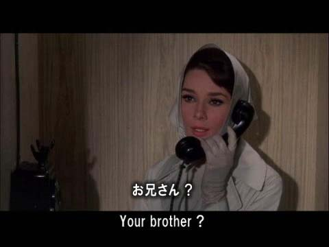 英語学習映画 シャレード 21 ダイルの弟