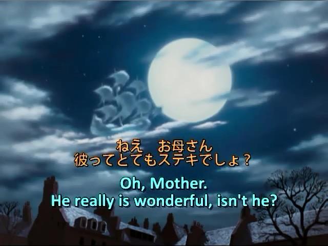 英語学習アニメ ピーターパン 18 子供の頃に見た夢