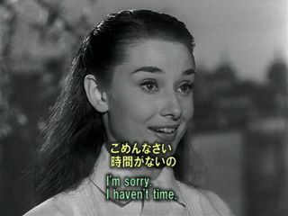 英語学習映画 ローマの休日 14 王女、街中へ