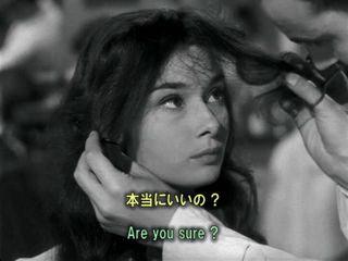 英語学習映画 ローマの休日 15 長い髪をカット